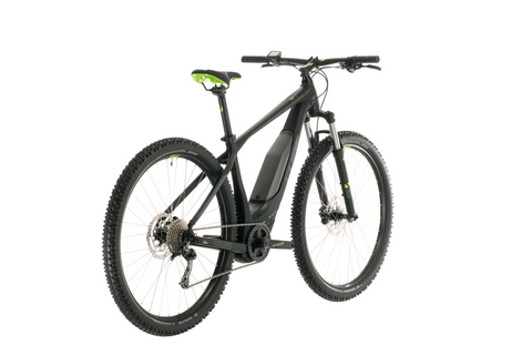 Bicicleta Electrica CUBE Acid Hibryd ONE 500 - 2020 - black´n´green