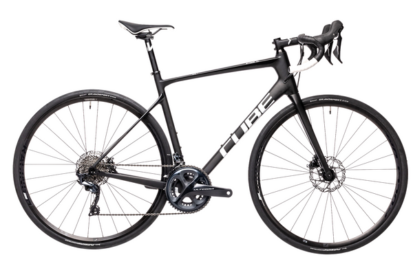 Bicicleta de Ruta CUBE Attain GTC SL - 2021 - Carbon n white