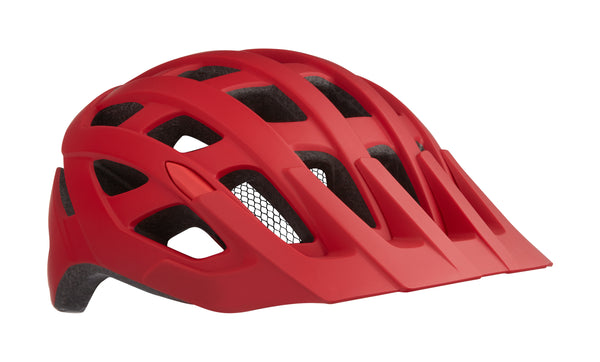 Casco Lazer Roller color Rojo Matte con Red Frontal