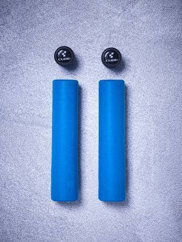 Grips CUBE SCR Silicona Azules
