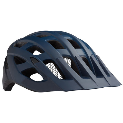 Casco Lazer Roller Azul Negro Mate Red Frontal