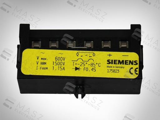 NEW 175823 SIEMENS RECTIFIER UNIT