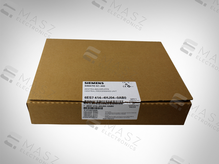 NEW 6ES7414-4HJ04-0AB0 SIEMENS SIMATIC S7-400 CENTRAL PROCESSING UNIT
