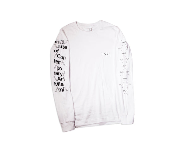 ICA Miami Long Sleeve White Shirt
