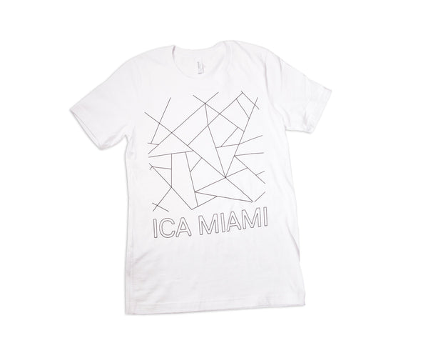 ICA Miami Short Sleeve White Shirt