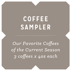 Coffee Sampler