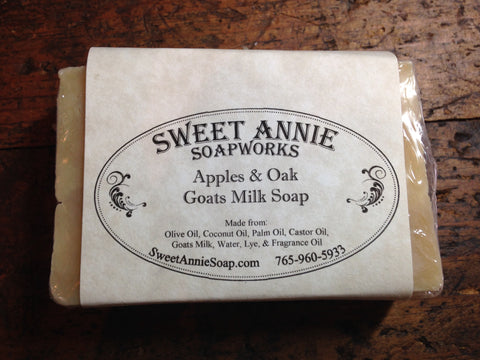 Apples & Oak Goats Milk Soap