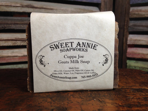 Cuppa Joe Goats Milk Soap