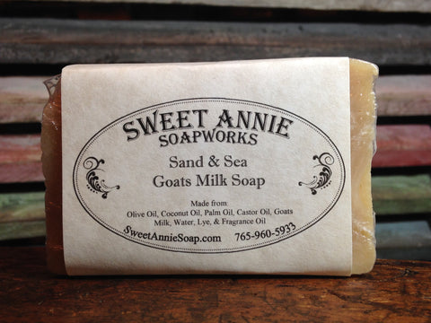 Sand and Sea Goats Milk Soap