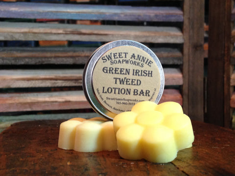 Green Irish Tweed Fragrance Oil Lotion Bar