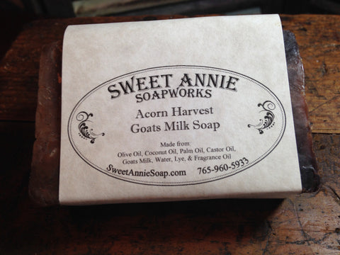 Acorn Harvest Goats Milk Soap