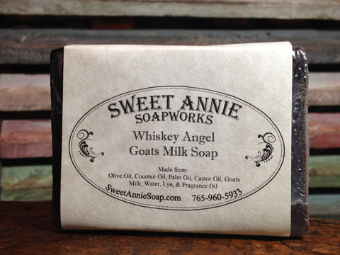 Whiskey Angel Goats Milk Soap