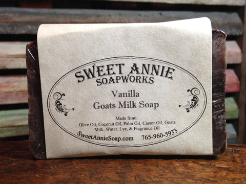 Vanilla Goats Milk Soap