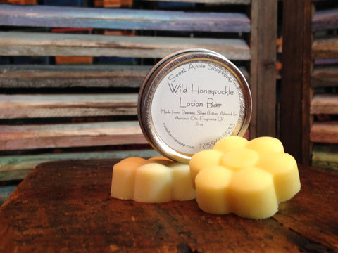 Wild Honeysuckle Lotion Bar