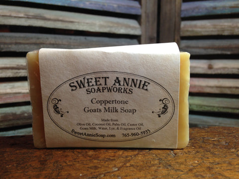 Coppertone Goats Milk Soap