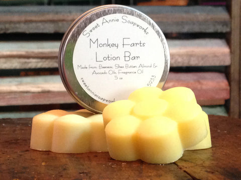 Monkey Farts Lotion Bar