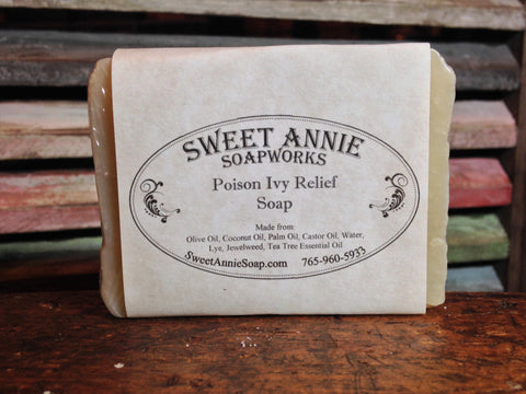 Poison Ivy Relief Soap