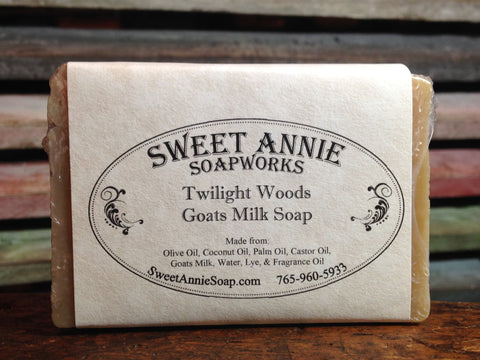 Twilight Woods Goats Milk Soap