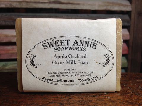 Apple Orchard Goats Milk Soap