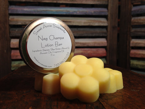 Nag Champa Lotion Bar