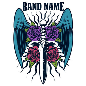 'Dagger Blade' Band Design