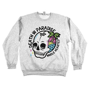 Death In Paradise Sweatshirt Ash Grey
