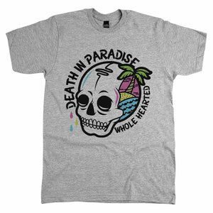 Death In Paradise Shirt Athletic Grey
