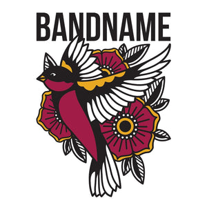 'Flying Sparrow' Band Design