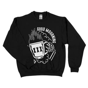 Good Mourning Sweatshirt Black