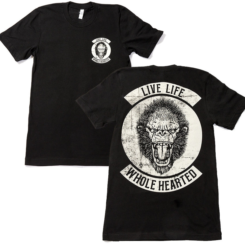 Gorilla Tee Front And Back