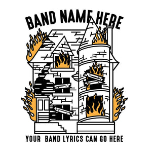 'House Wreck' Band Design