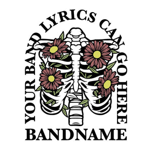 'Flower Bones' Band Design