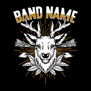 'The Deer' Band Design