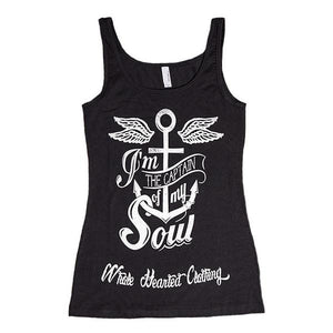 'I'm The Captain of My Soul Womens Tank'