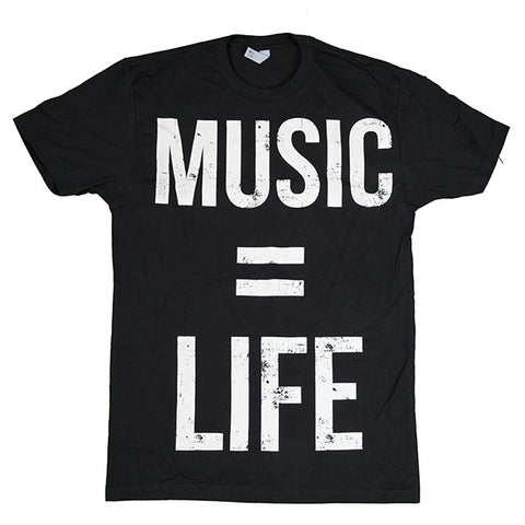 Music Equals Life Tee