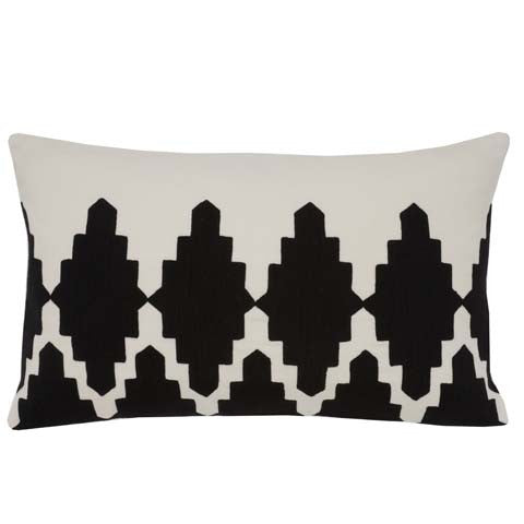 Black Diamond 12x20 cushion