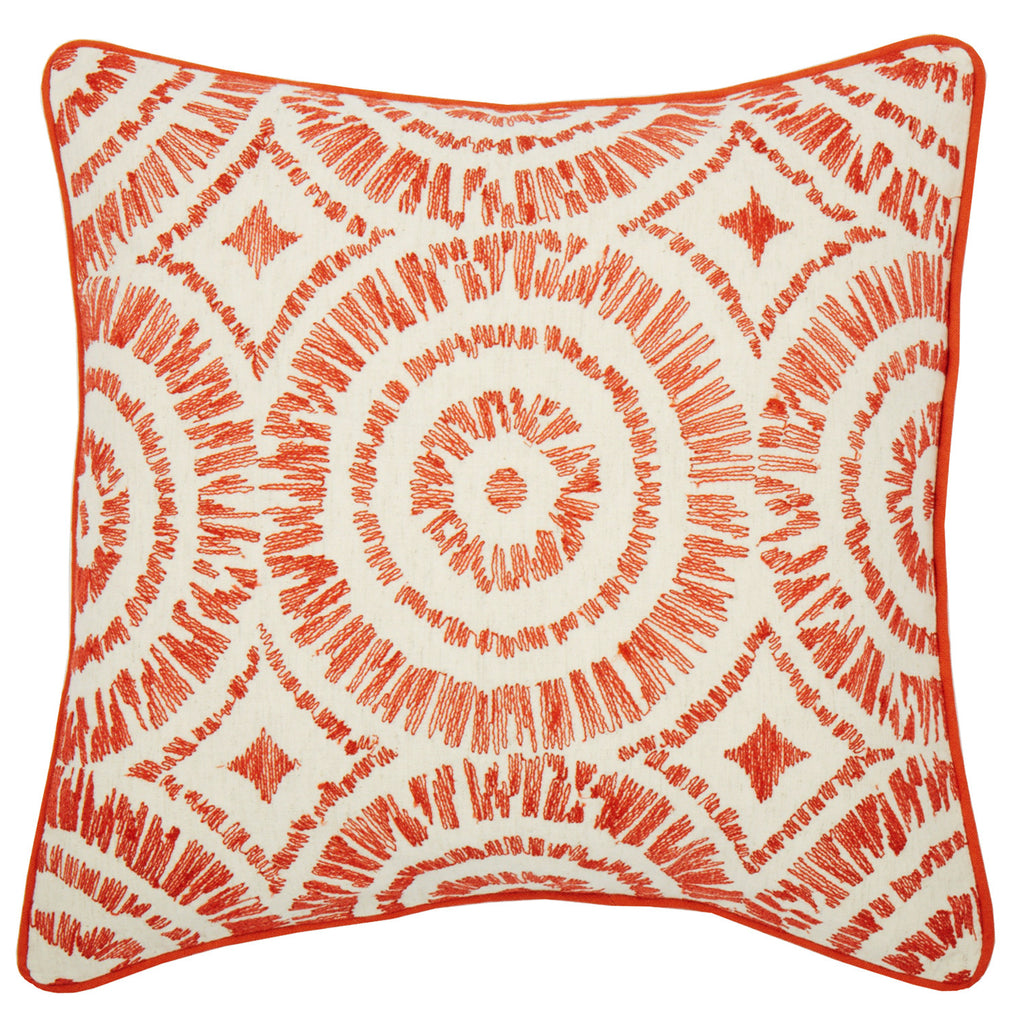 Paro Orange 18x18 cushion