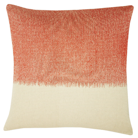 Woven night orange 22x22, cushion