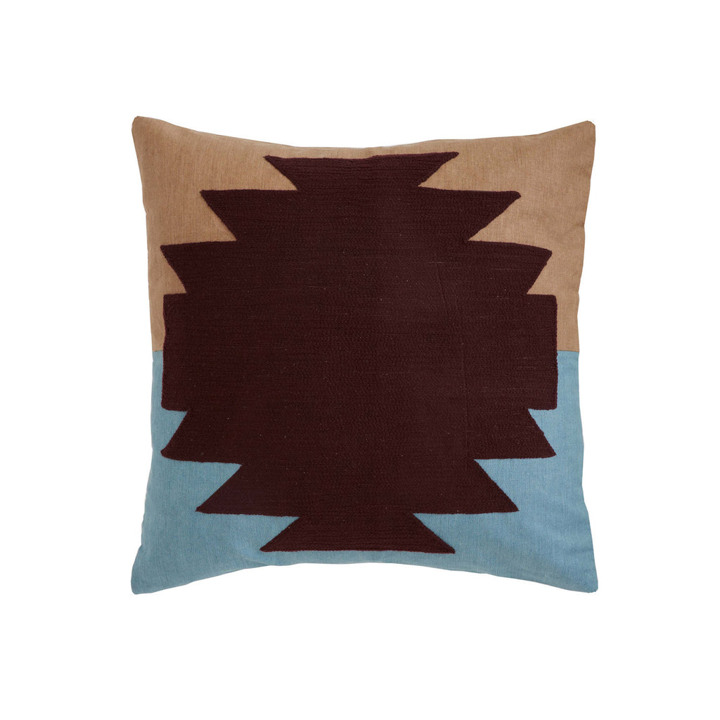 Aponi Blue 18x18 cushion