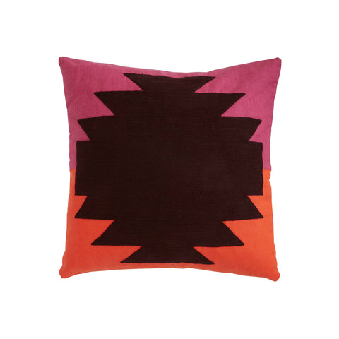 Aponi Orange 18x18 cushion