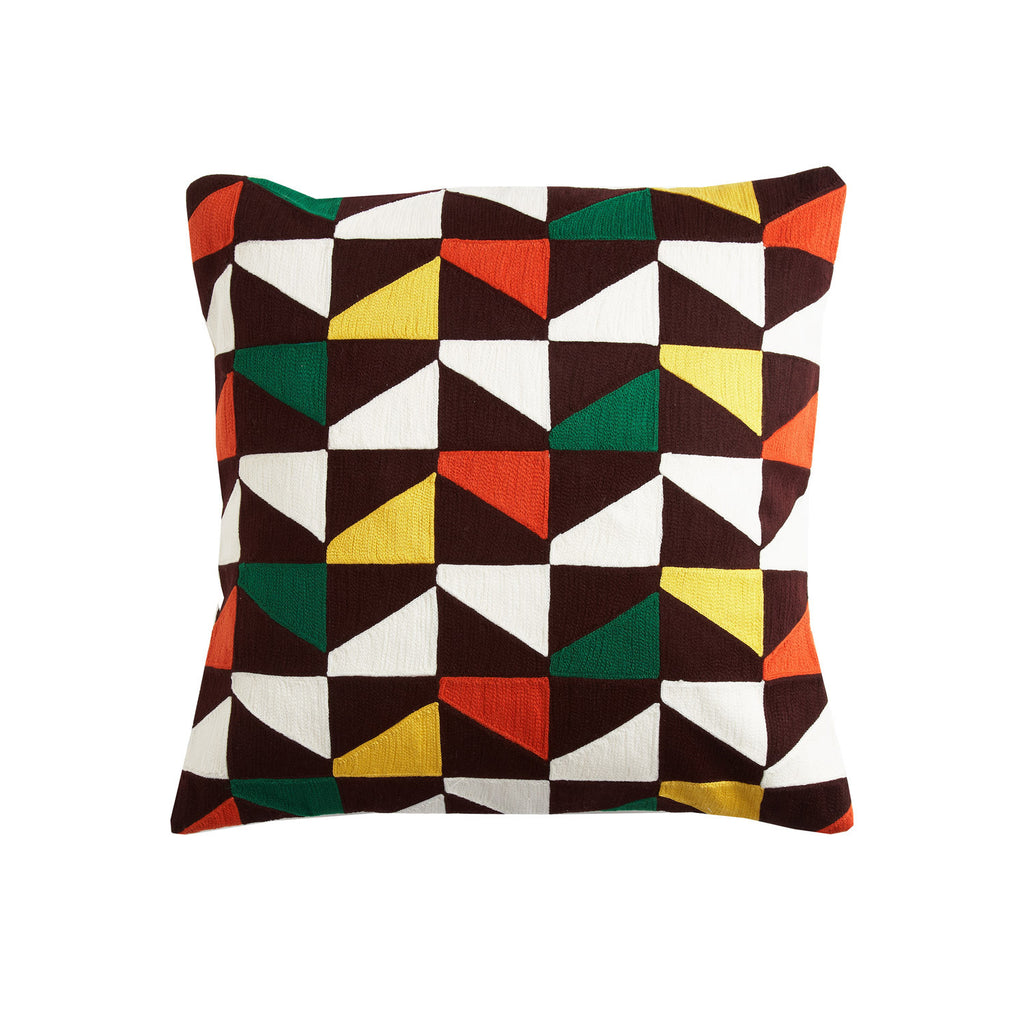 Blocks Safari 18x18 cushion