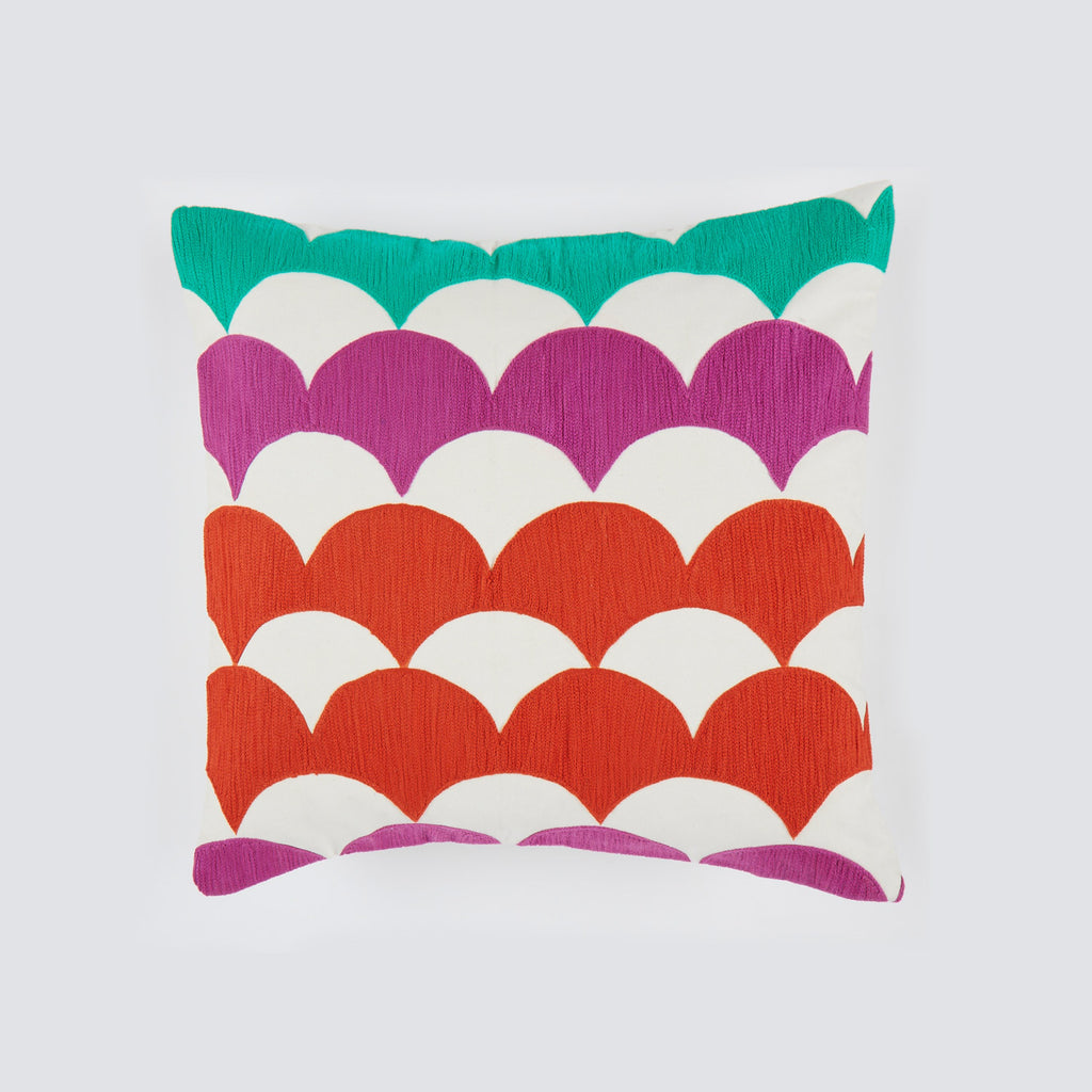 Chandi Fuchsia 18x18 cushion