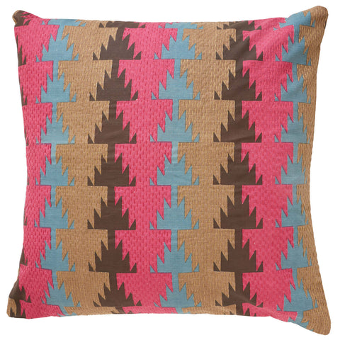 Fala Fuschsia pillow 24x24 cushion