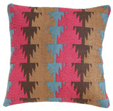 Fala Fuschsia 18x18 cushion