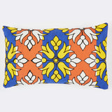 Flower Diamond orange 12x20 cushion