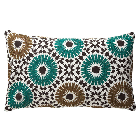 Winter Garden Green 12x20 Pillow