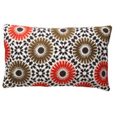 Winter Garden orange 12x20 pillow