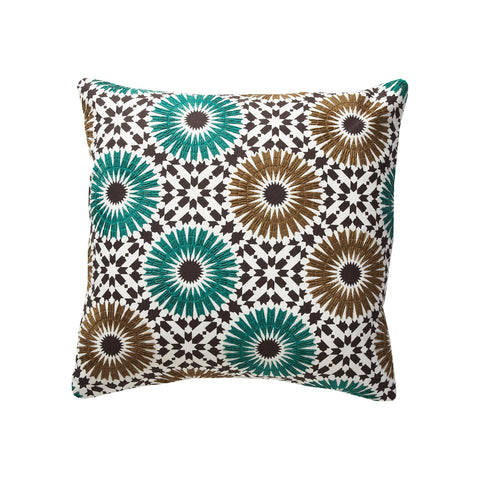 Winter Garden Green 18x18 Pillow