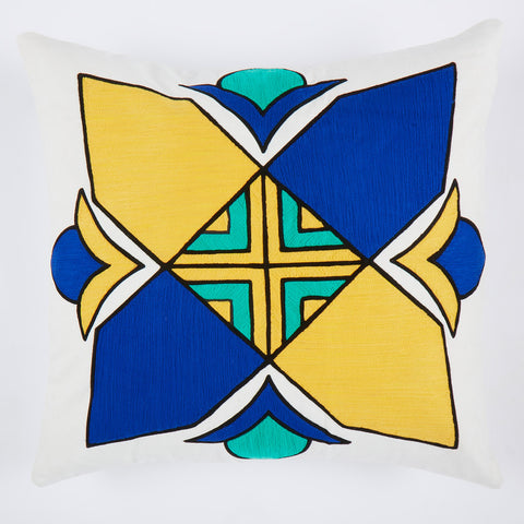 Janjeera Blue 24x24 cushion