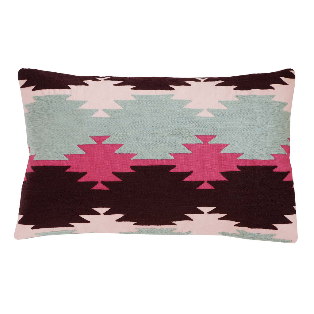Kasa Fuschsia 12x20 cushion